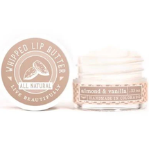 Almond & Vanilla Whipped Lip Butter by Live Beautifully