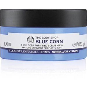 Blue Corn 3in1 Deep Cleansing Scrub Mask by The Body Shop