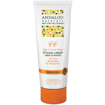 Argan Oil & Shea Moisture Rich Styling Cream by andalou naturals