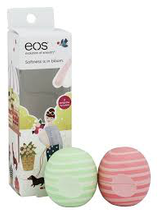 Visibly Soft Cucumber Melon & Coconut Milk Lip Balm -2ct by eos