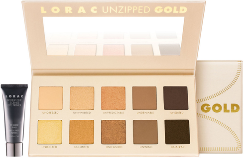 Unzipped Gold Eyeshadow Palette by Lorac