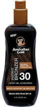 Sunscreen Spray Gel with Instant Bronzer by australian gold