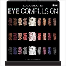 30 Color Eye Compulsion Eyeshadow Vault by L.A. Colors