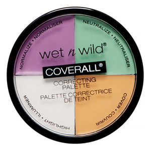 Coverall Correcting Palette by Wet n Wild Beauty