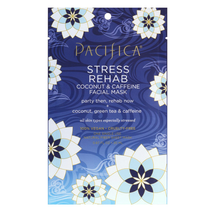 Stress Rehab Coconut Caffeine Facial Mask by pacifica