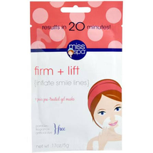 Firm + Lift, 1 Pair Pre - Treated Gel Masks by miss spa