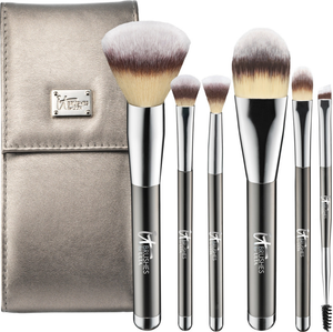 It Cosmetics x ULTA Your Superheroes Full-Size Travel Brush Set by IT Cosmetics
