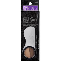 Brow Powder And Stencil Combo by salon perfect