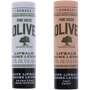 Pure Greek Olive Oil Lip Balm Duo by Korres