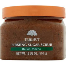 Italian Mocha Firming Sugar Scrub by tree hut