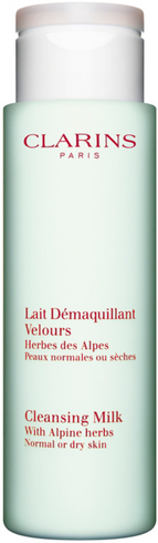 Cleansing Milk with Alpine Herbs Moringa by Clarins