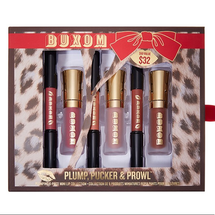 Plump, Pucker & Prowl Plumping 6-Piece Mini Lip Collection by Buxom