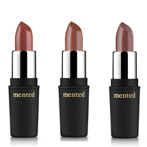 Fall Semi-Matte Lip Shade Collection by Mented Cosmetics