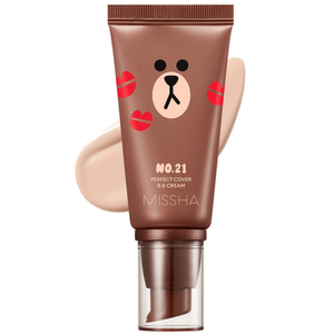Missha x Line Friends Perfect Cover BB Cream SPF 42 by Missha