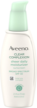 Clear Complexion Sheer Daily Moisturizer by Aveeno