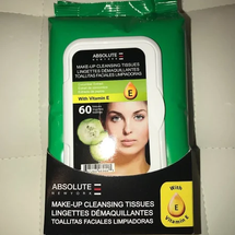 Make Up Cleansing Tissues Cucumber Extract by Absolute