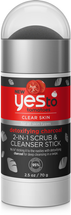 Tomatoes Detoxifying Charcoal 2-In-1 Scrub And Cleanser Stick by yes to