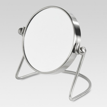 Removablemirror Brushed Nickel by threshold