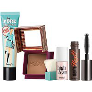 Prime To Glow! Primer, Bronzer, Mascara & Highlighter Set by Benefit