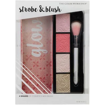 Glow Strobe & Blush Palette by the color workshop