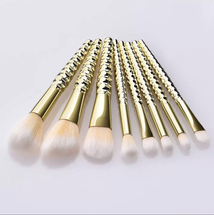 Gold Series Make-Up Brush Set by Cimply Cosmetics