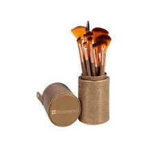 Shimmering Bronze 12-Piece Brush Set by BH Cosmetics
