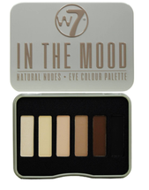 In The Mood Natural Nudes Eye Shadow Palette by w7