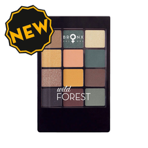 Eyeshadow Palette - Wild Forest by Bronx Colors