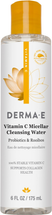 Vitamin C Micellar Cleansing Water by Derma E