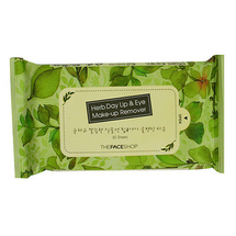 Herb Day Lip & Eye Makeup Remover Tissue by The Face Shop