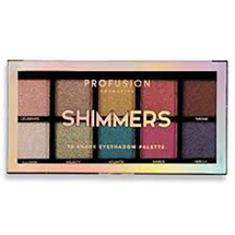 Shimmers Eyeshadow Palette by Profusion