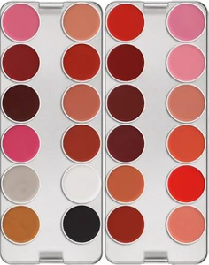 Lip Rouge Palette 24 Colors - Classic by kryolan