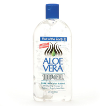 Aloe Vera 100% Gel Crystal Clear by Fruit Of The Earth