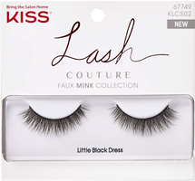 Lash Couture Faux Mink Little Black Dress by kiss products