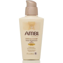 Skin Care Even & Clear Daily Moisturizer by ambi