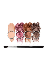 Bronzy Eyes 5-Piece Set by Blend Mineral Cosmetics