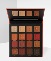 Fiery 16 Color Palette by Beauty Bay