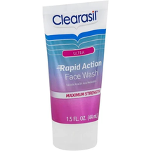 Ultra Face Wash Rapid Action Maximum Strength by clearasil