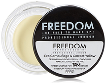 Pro Camouflage and Correct Concealer by Freedom Makeup