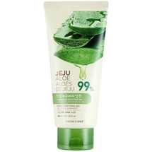 Jeju Aloe Fresh Soothing Face & Body Moisturizer Gel Tube by The Face Shop