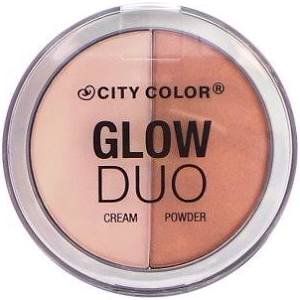 Glow Duo Highlight Cream/Powder by city color