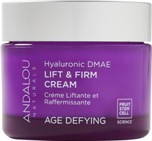 Age Defying Hyaluronic Dmae Lift And Firm Cream by andalou naturals