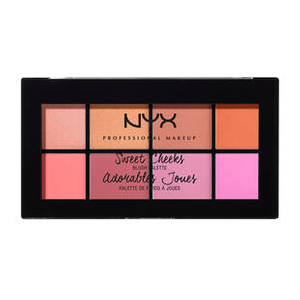 Sweet Cheeks Blush Palette by NYX Professional Makeup