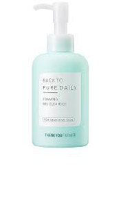 Back To Pure Daily Foaming Gel Cleanser by thank you farmer