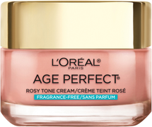 Age Perfect Rosy Tone Fragrance Free Face Moisturizer by L'Oreal
