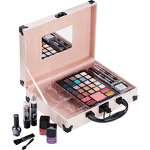 Beautiful You Pink Makeup Case by the color workshop