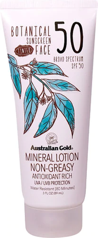Botanical Tinted Face Sunscreen by australian gold #2
