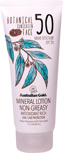 Botanical Tinted Face Sunscreen by australian gold