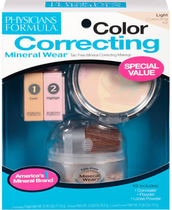 Mineral Wear Correcting Kit by Physicians Formula