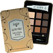 Look Pro Neutral Eyeshadow Palette -   Gold by Hard Candy